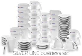 Relatiegeschenk Businessset Silver Line