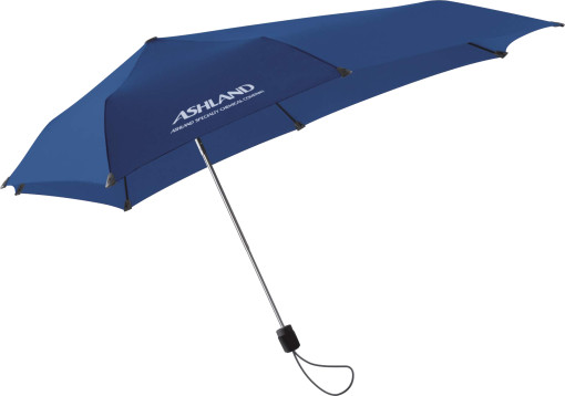 Relatiegeschenk Senz business mini paraplu. bedrukken