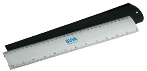 Relatiegeschenk Aluminium liniaal 30 cm bedrukken