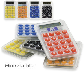 Relatiegeschenk Mini calculator