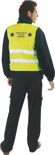 Relatiegeschenk Safety jacket promo.