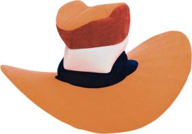 Relatiegeschenk Jumbo hoed.