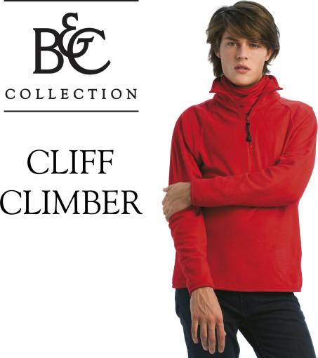 Relatiegeschenk B&C fleece Cliff Climber bedrukken