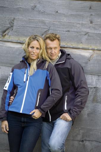 Relatiegeschenk Matterhorn Softshell dames ski-jas bedrukken
