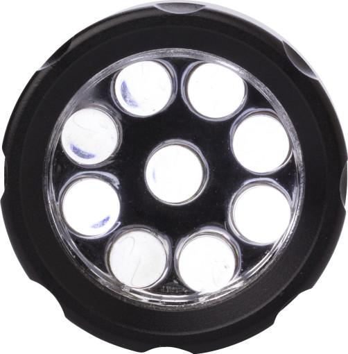 Relatiegeschenk Zaklamp 9 LED bedrukken
