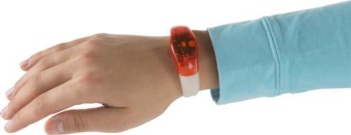 Relatiegeschenk Siliconen polsband met LED bedrukken