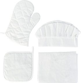 Relatiegeschenk Keukenset Textiel 4-delig