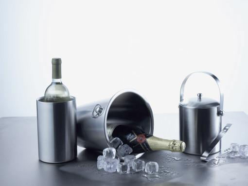 Relatiegeschenk Champagnekoeler Grape bedrukken