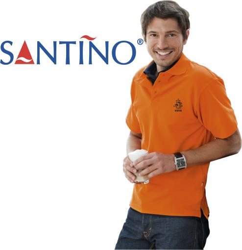 Relatiegeschenk Santino Poloshirt Charma bedrukken