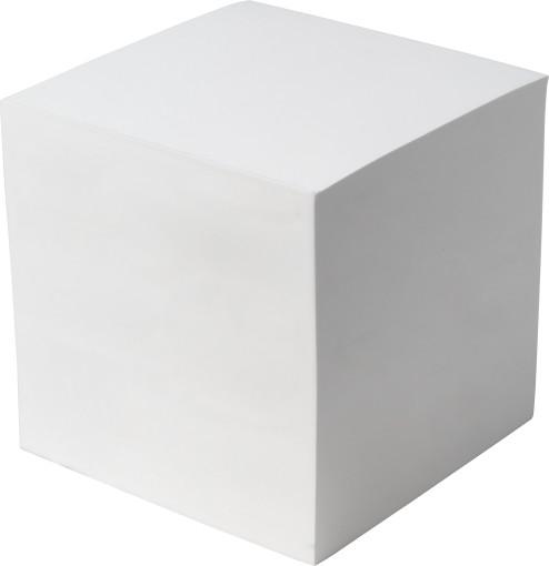 Relatiegeschenk Kubusblok Large bedrukken