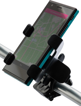Relatiegeschenk Telefoonhouder Bike