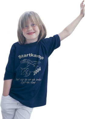 Relatiegeschenk Gildan Heavyweight T-shirt Kids