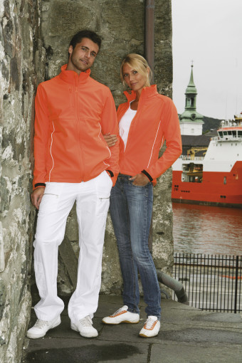 Relatiegeschenk Lemon & Soda Softshell jacket Carmel for her bedrukken