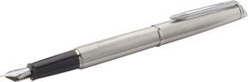 Relatiegeschenk Waterman Hemisphere Steel CT Vulpen