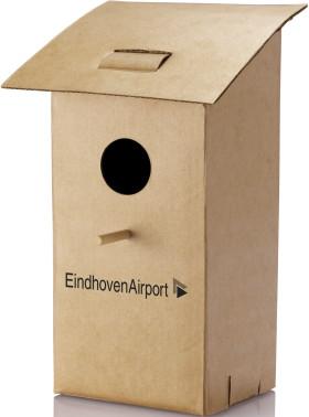 Relatiegeschenk Opvouwbaar vogelhuisje