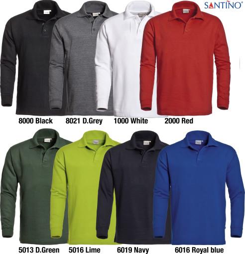 Relatiegeschenk Polosweater Rick bedrukken