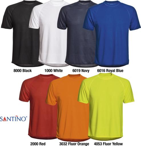 Relatiegeschenk Santino Sport T-shirt Jump Kids bedrukken