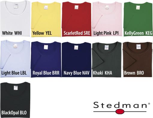 Relatiegeschenk Stedman Comfort t-shirt for her bedrukken