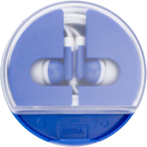 Relatiegeschenk Oordopjes in-ear Circle bedrukken
