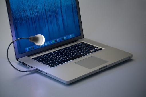 Relatiegeschenk Laptoplampje Bulb bedrukken