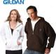 Relatiegeschenk Gildan heavyweight zip hooded sweatshirt bedrukken