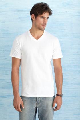 Relatiegeschenk Gildan Soft Style V-neck T-shirt Heren