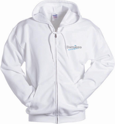 Relatiegeschenk Gildan Full Zipped Hooded Sweatshirt for Her bedrukken