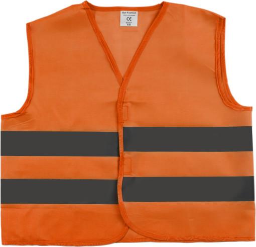 Relatiegeschenk Promotioneel veiligheidsvest oranje bedrukken