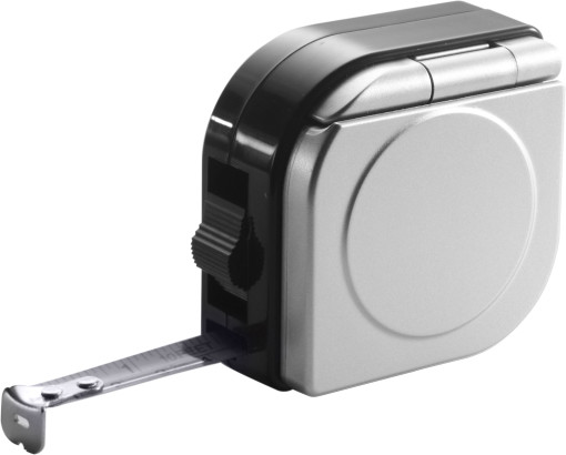 Relatiegeschenk Rolbandmaat met calculator bedrukken