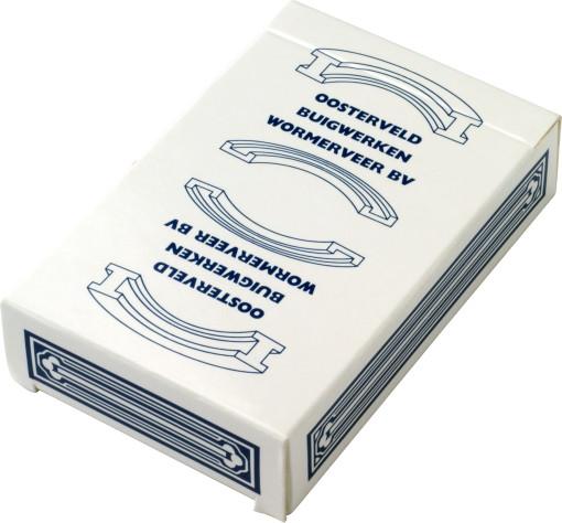Relatiegeschenk 52 Corona speelkaarten bedrukken