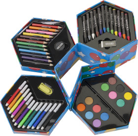 Relatiegeschenk 56-Delige kleurbox Balloon
