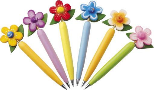 Relatiegeschenk Balpen Flower bedrukken