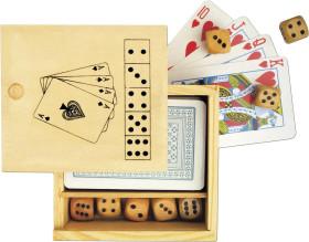 Relatiegeschenk Kaart- en dobbelspel