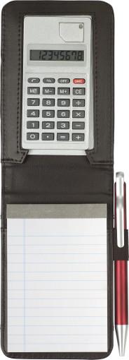 Relatiegeschenk Notitieboekje Faro met calculator bedrukken