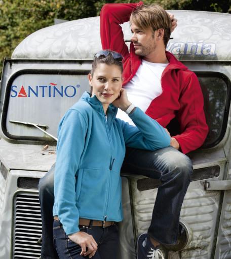 Relatiegeschenk Santino Polarfleece jack Bormio Ladies bedrukken