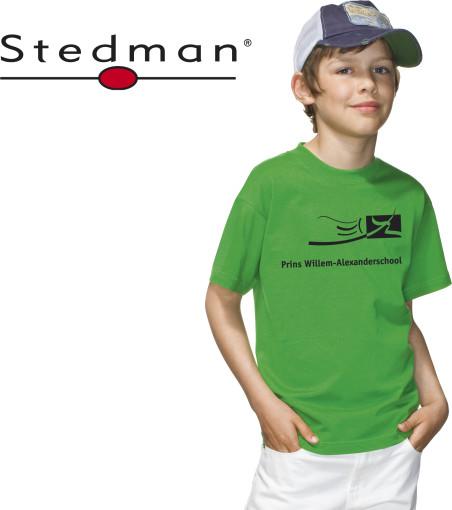 Relatiegeschenk Stedman Junior Classic t-shirt bedrukken