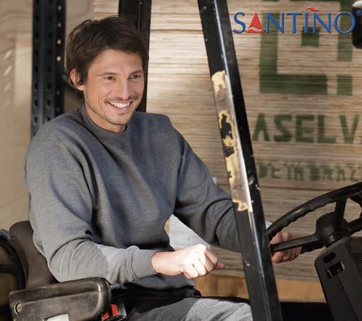 Relatiegeschenk Santino sweater Roland bedrukken