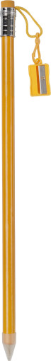 Relatiegeschenk Jumbo potlood met puntenslijper
