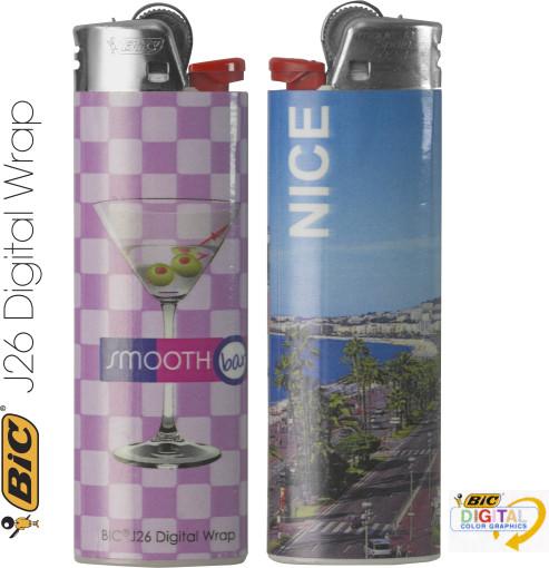 Relatiegeschenk Bic Maxi aansteker Digital Wrap bedrukken