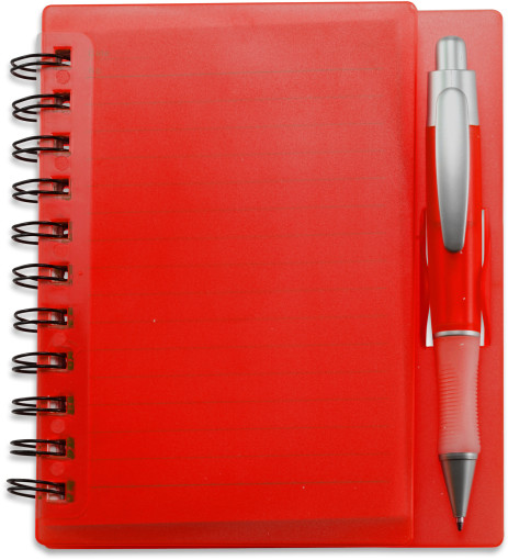 Relatiegeschenk Notitieboekje met pen bedrukken