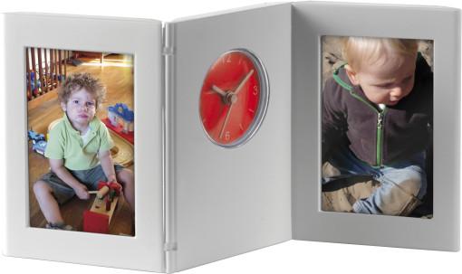 Relatiegeschenk Bureauklok Photo frame bedrukken