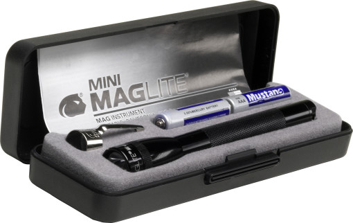 Relatiegeschenk Mini Mag-lite met penclip bedrukken