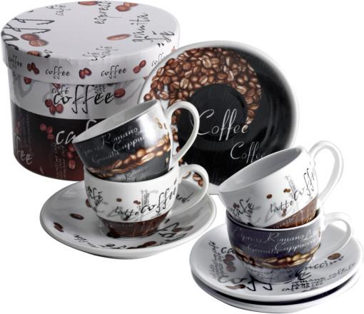 Relatiegeschenk Espresso set 4-delig bedrukken