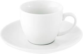 Relatiegeschenk Espresso kop en schotel Lima