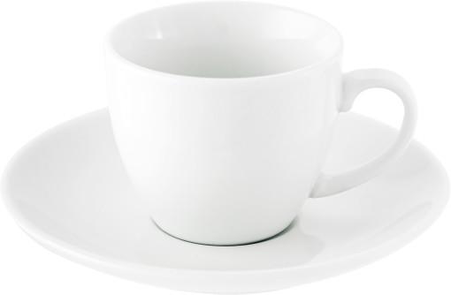 Relatiegeschenk Espresso kop en schotel Lima bedrukken