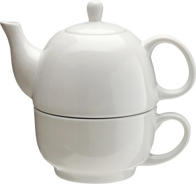Relatiegeschenk Theepot/kopje High Tea