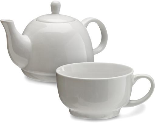 Relatiegeschenk Theepot/kopje High Tea bedrukken