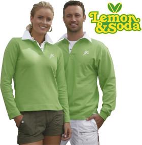 Relatiegeschenk Lemon & Soda rugbyshirt for him