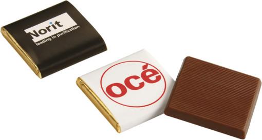 Relatiegeschenk Napolitain chocolade bedrukken