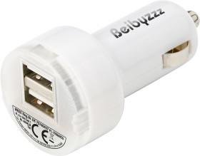 Relatiegeschenk USB Car Charger Duo